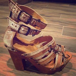 BedStu Cobbler Series heels